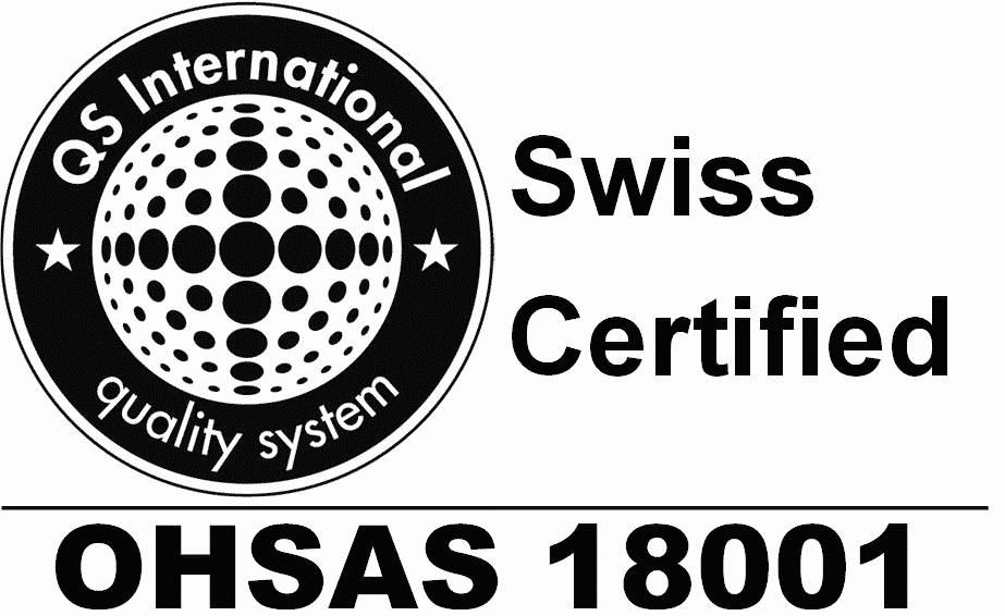 Bibielle Quality Certificate OHSAS 18001